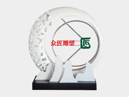 不锈钢景观雕塑-山东广场不锈钢雕塑价格