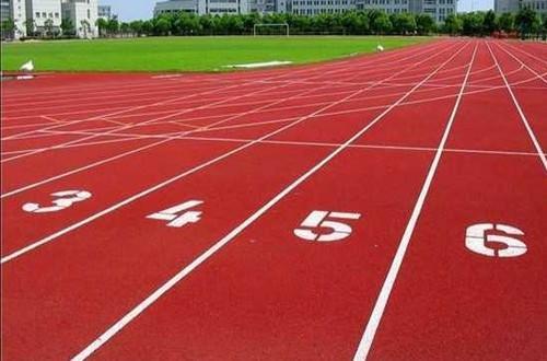 广西塑胶跑道地坪,百色市透气型塑胶跑道