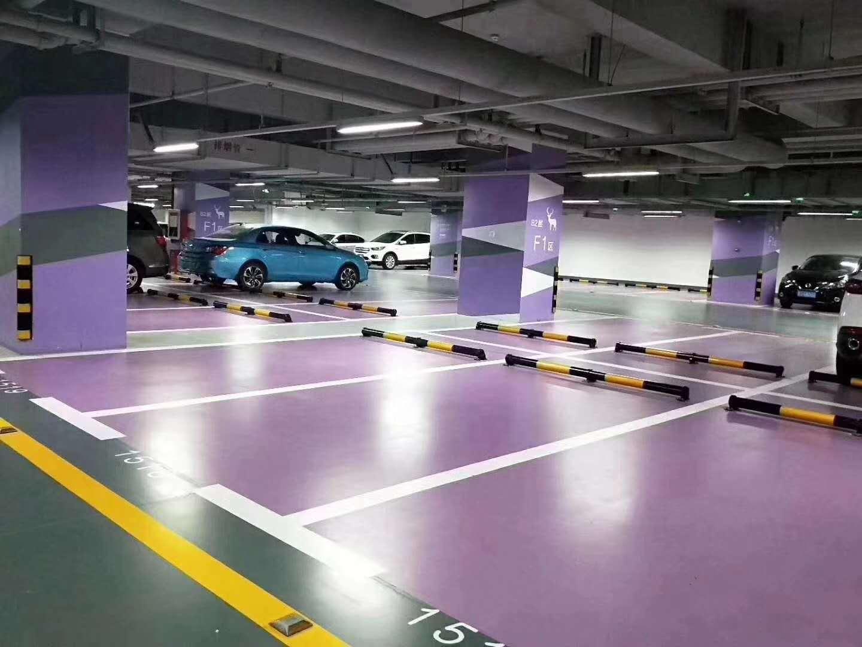 停车场划线-河南停车场划线施工-郑州停车场划线施工