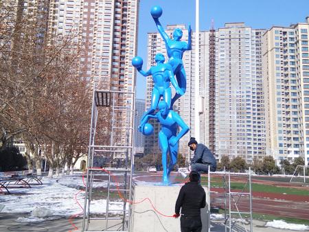 体育人物雕塑,体育人物雕塑工程,体育人物雕塑生产公司