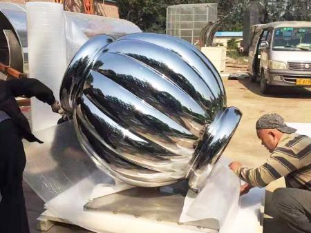 不锈钢镂球空雕塑公司-南京名人不锈钢雕塑-山西名人不锈钢雕塑