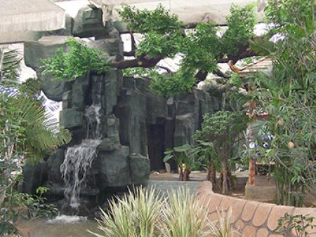甘肃假山在园林设计中的注意事项