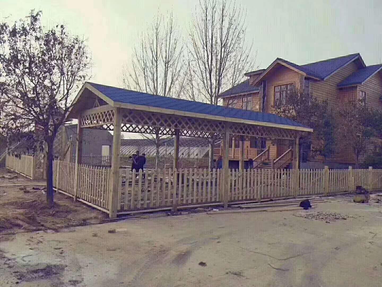 新疆防腐木葡萄架-克拉玛依防腐木廊架厂家