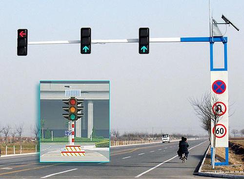 银川太阳能信号灯-固原太阳能交通信号灯尺寸