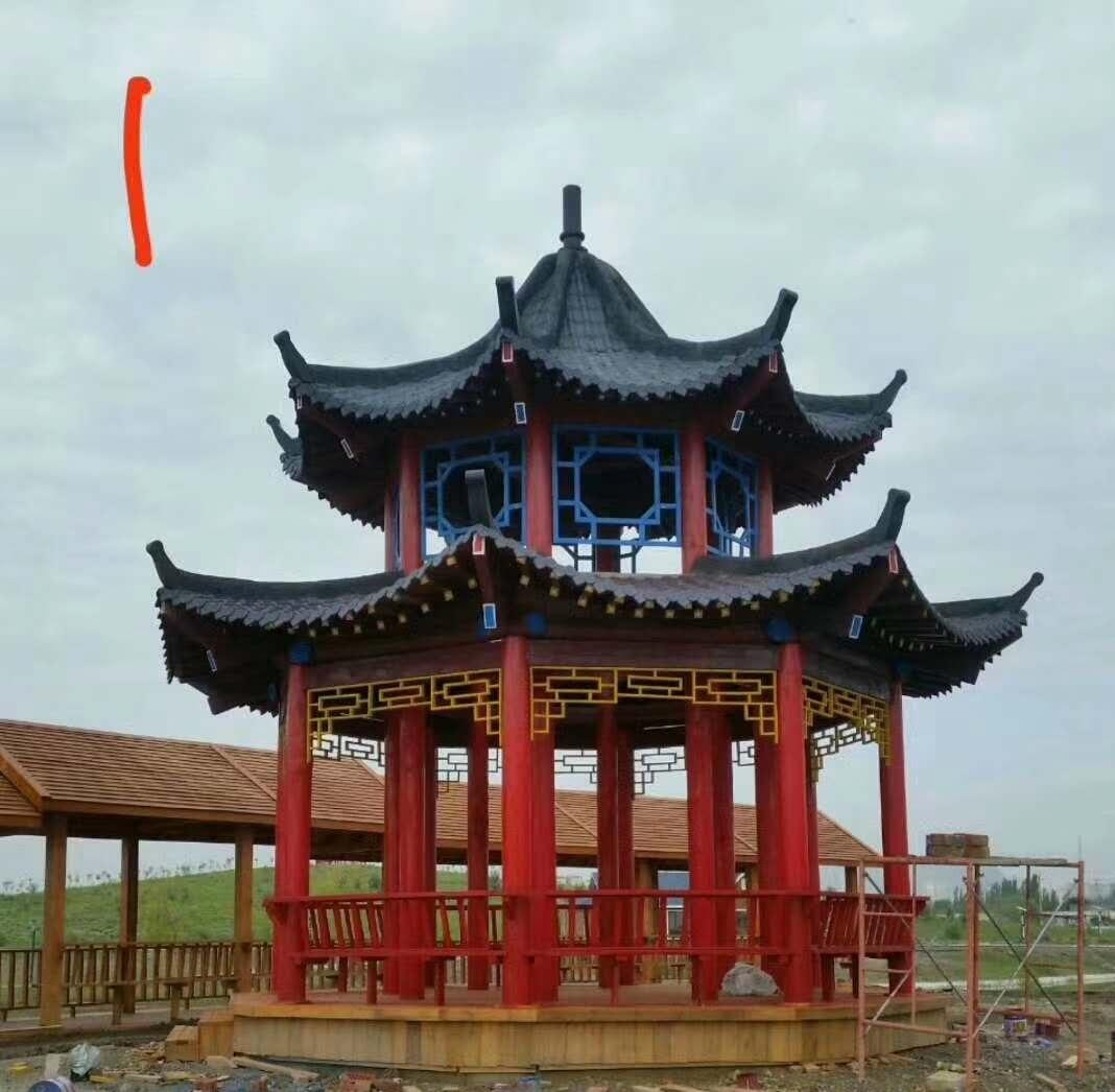 新疆仿古建筑