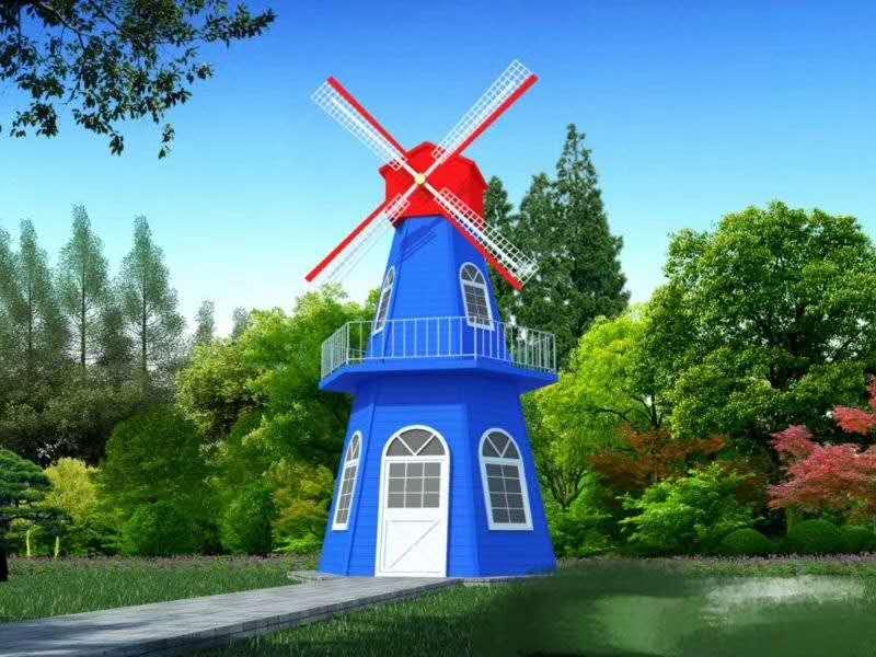 新疆防腐木风车施工单位 乌鲁木齐高质量的新疆防腐木风车