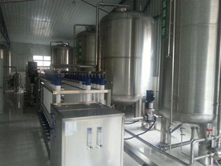 甘肅水處理設備中型純凈水設備出現異味原因