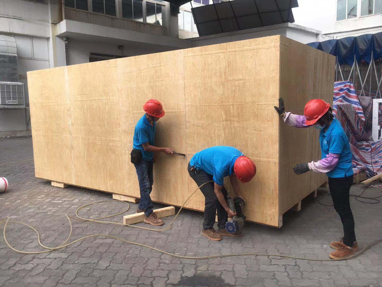 机械木箱价格-厦门大型机械木箱制作-厦门大型机械木箱定制