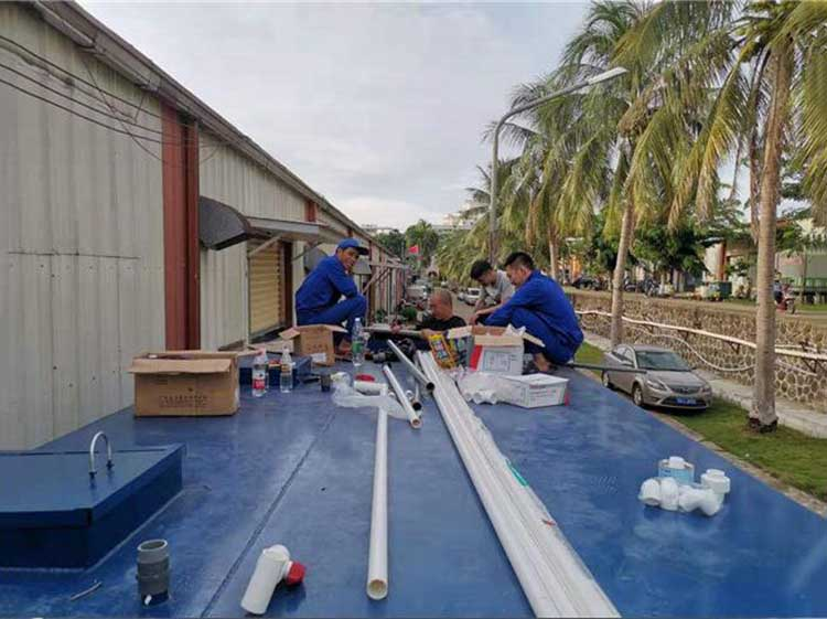 海南一体化污水处理-琼海一体化污水处理工程