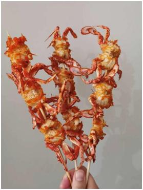 漳州海鲜串类-江苏香辣螃串-四川香辣螃串