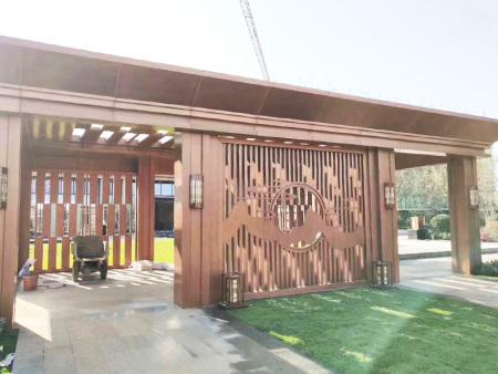 铝单板廊架公司-河北铁艺廊架厂家-河北铁艺廊架生产厂家