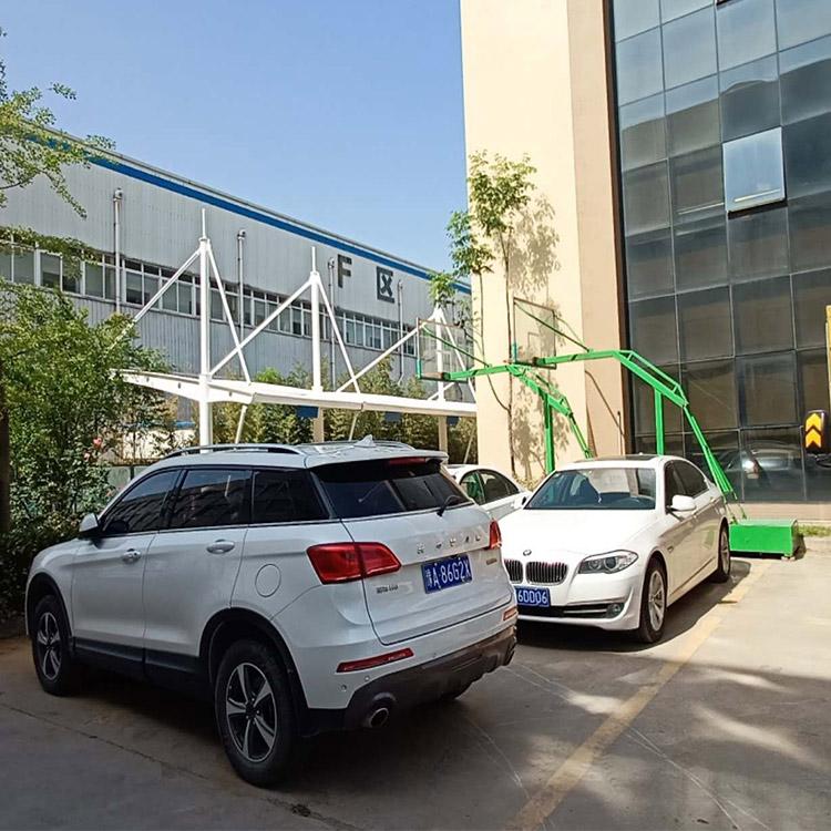 邯郸学校膜结构车棚-购买膜结构停车棚就来天宇膜结构