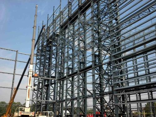 兰州钢结构框架房_钢结构框架楼_施工队上门安装