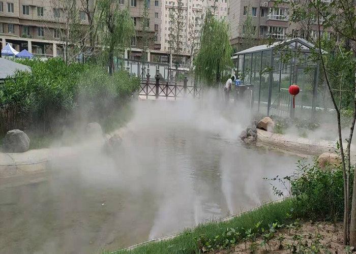新疆人造雾消毒-库尔勒公园人工造雾-库尔勒景区人工造雾