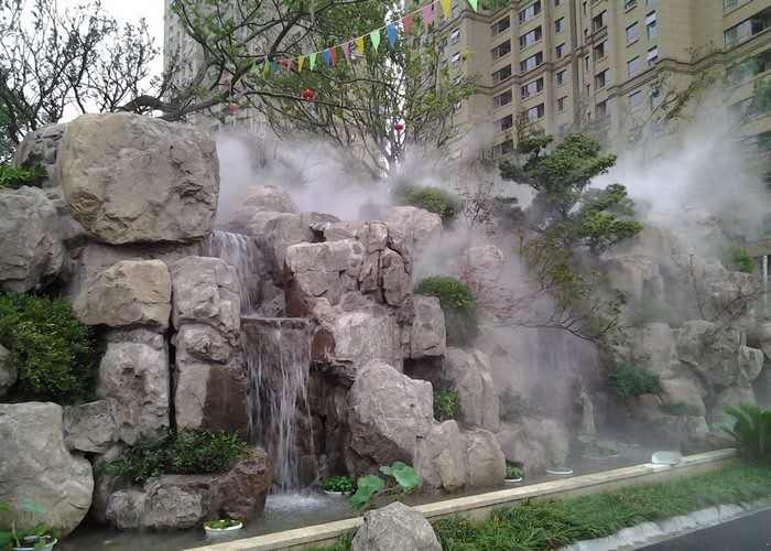 新疆加湿除尘-阿勒泰景区人工造雾-阿勒泰人工造雾工程