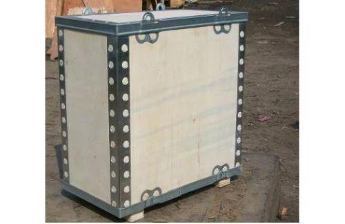 漳州钢边箱-厦门钢扣包装箱定制-厦门钢边包装木箱