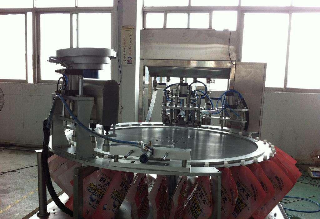 袋装洗衣液灌装机//袋装洗衣液灌装机厂家