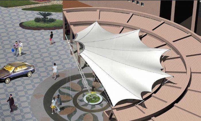 铝艺护栏-雨棚制作-楼梯配件