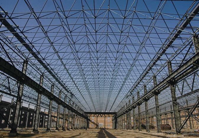 買鋼結構工程就來寧夏新發達鋼構彩板-惠農鋼結構工程施工