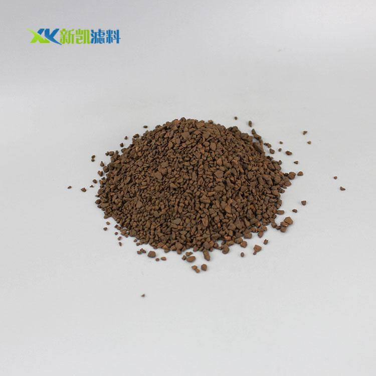 工业废水净化专用锰砂滤料-郑州高性价锰砂滤料-厂家直销