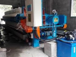 洗沙废水压滤机 沙场污泥处理定制 全自动压滤机现场效果图