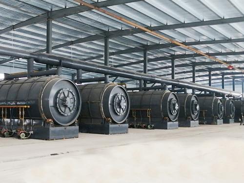 环保废橡胶/废轮胎/废塑料/油泥/亚克力/铝箔炼油设备生产厂