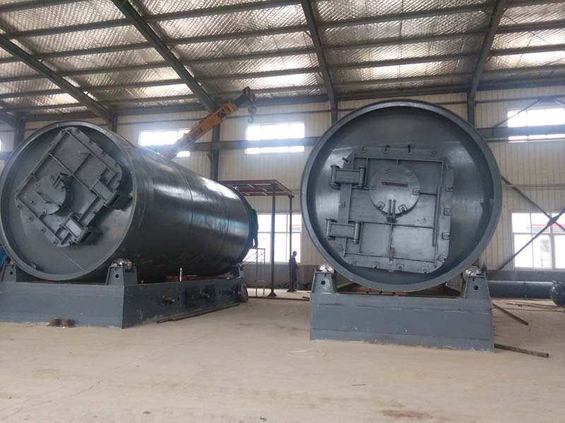 环保油生产-商丘品牌好的废橡胶废轮胎废塑料油泥铝箔炼油设备公司