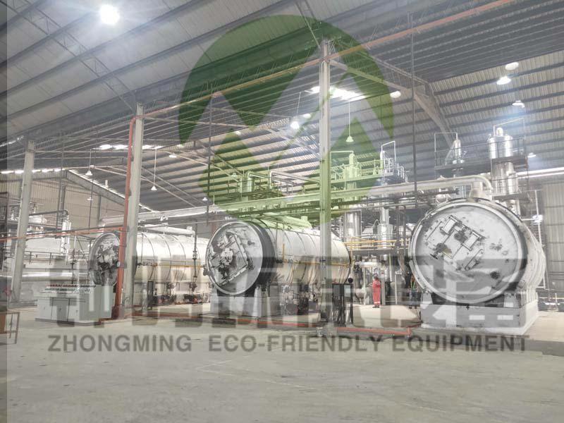 商丘市钟鸣环保设备专业回收处理废机油
