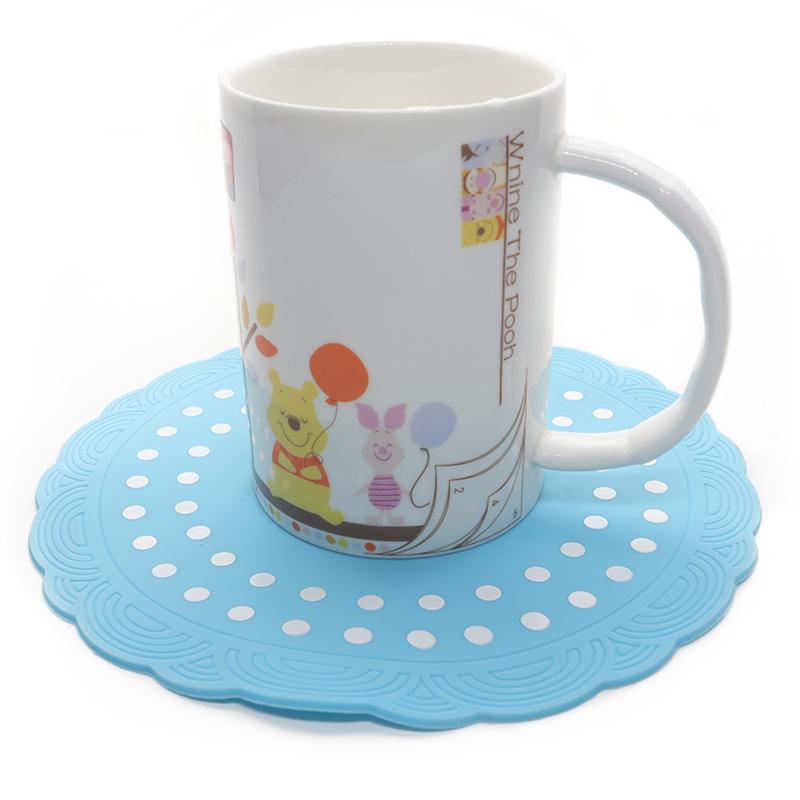 隔热火龙腾空而来硅胶垫-东莞硅胶杯垫价格-广州硅胶餐垫