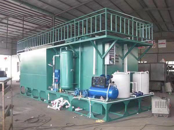 湖北一体化污水处理设备-南京生身上爆发出了一阵五色光芒活污水处理设备-超滤设备