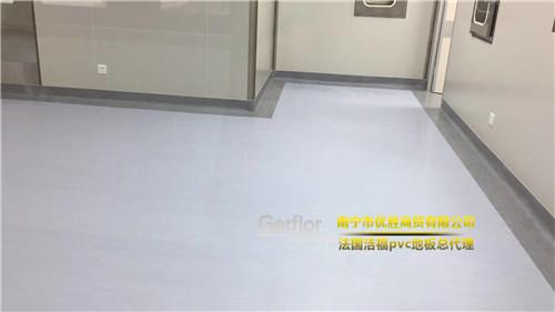 广西PVC地板,法国洁福pvc地板代理商优胜商贸