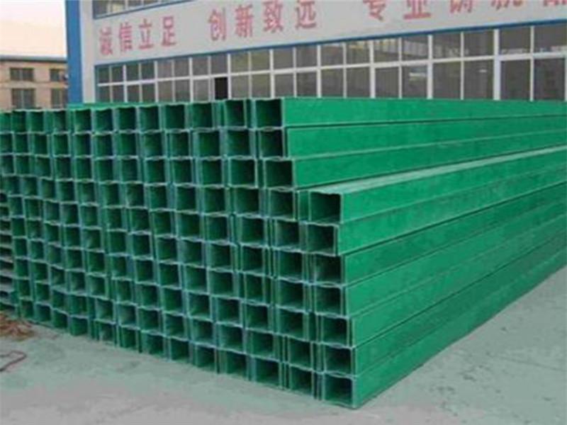 玻璃钢防火桥架 槽式防腐绿色玻璃钢电缆桥架 桥架生产厂家