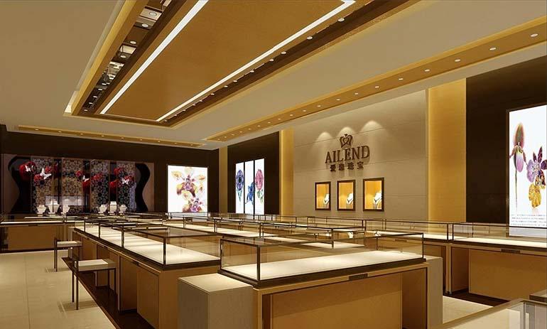 汉川市珠宝展柜——耀东珠宝展柜定制13970968121