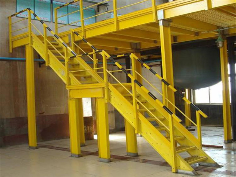 定做玻璃鋼梯子 玻璃鋼護籠爬梯 玻璃鋼梯子間 玻璃鋼扶梯