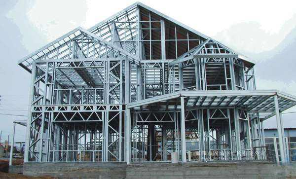 钢结构生产线-钢结构桥-钢结构搭建