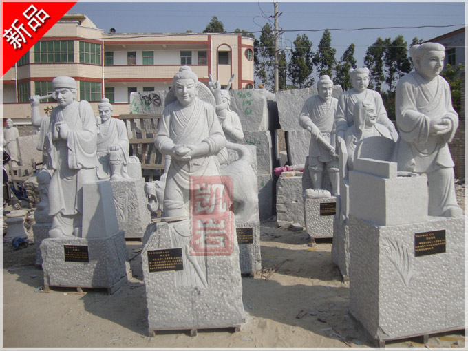 古代人物雕塑二十四孝石雕像及石雕二十四孝的故事-凱巖石業