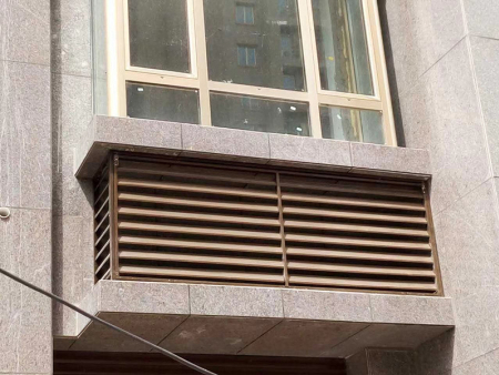 铝合金百叶窗价格-铝合金空调罩订制-铝合金空调罩生产