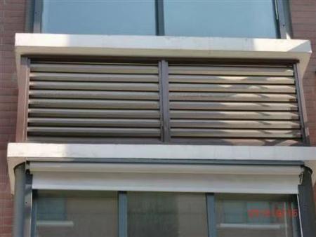 铝合金百叶窗防水防晒吗——铝合金百叶窗安装——佳海