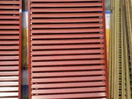 北京铝合金百叶窗-江苏室外防护栏-江苏空调百叶窗公司