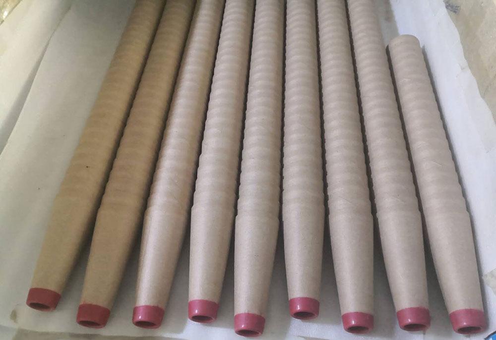 宝鸡纸管工厂-咸阳新品纺纱用宝塔纸管供应