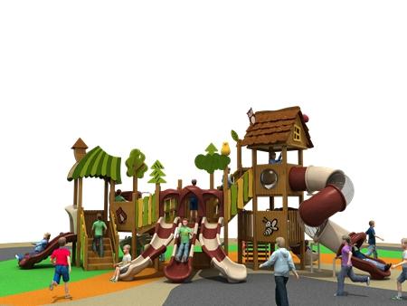幼儿园户外组合滑梯-滑梯秋千组合生产厂家
