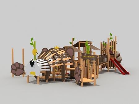 秋千滑梯组合-幼儿园组合滑梯生产厂家-大型滑梯组合生产厂家
