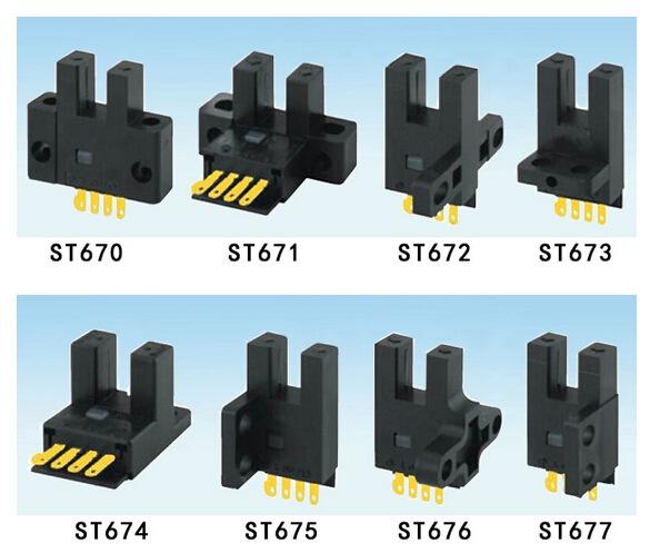 微型光电开关KJT-ST系列 ee-sx671 槽型光电 U