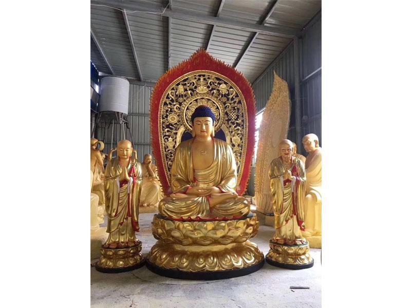 铜雕观世音菩萨雕塑大型铜佛像寺庙请佛像推荐