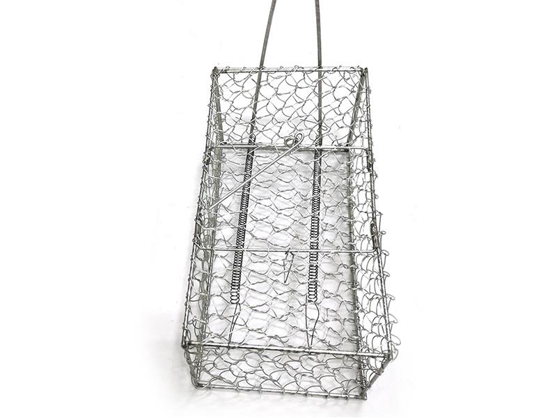 小铁笼-牛蛙笼子-绿色铁制小动物运输笼器