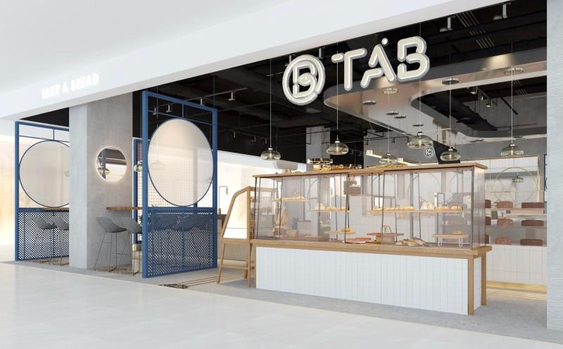 面包店鋪裝飾設計_深圳餐廳設計裝修公司-文豐裝飾