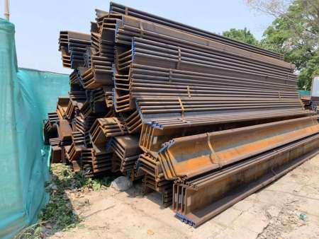 盤錦鋼板樁,專業供應,就在森土機械