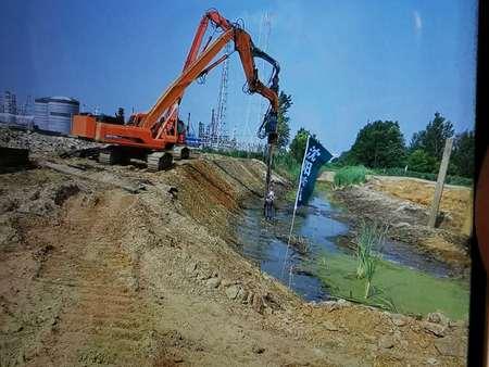河堤止水支护_安全防护_施工方案就选盘锦森土