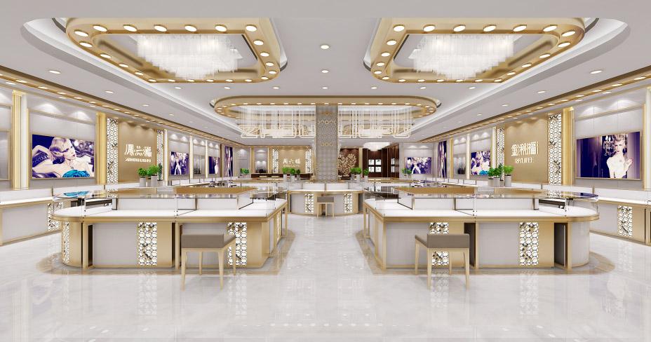 江西上饶市珠宝柜——耀东珠宝展柜定制13970968121