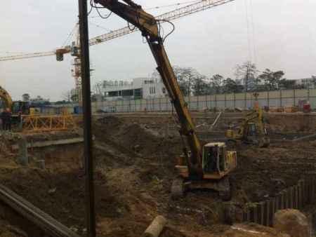 深基坑圍護,質量高,專業施工,森土機械